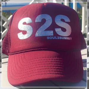 S2S Burgundy hat